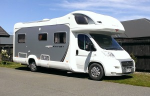 Sharyn & Gordon's motor home